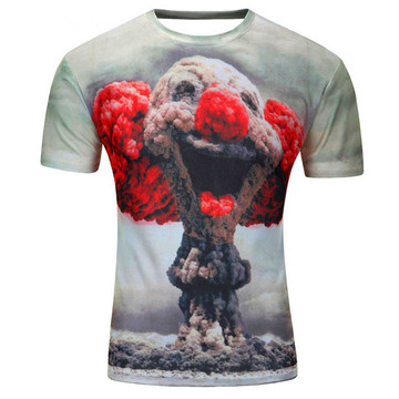 Quality for Nylon Polyester T Shirt Mens fitness polyester shirt summer style t-shirts export to Antarctica Factories