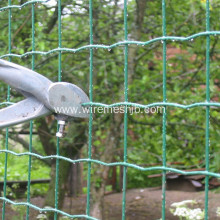 Green PVC Coated Euro Welded Wire Mesh Fence