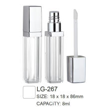Plastic Cosmetic Square Lipgloss Container