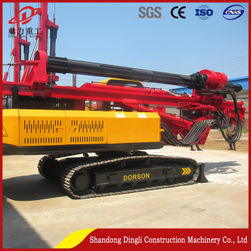 Dingli Construction Machinery Tracked Hydraulic Pile Driver