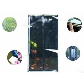 magic protection curtain snap fly screen