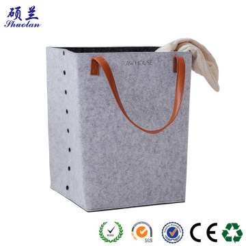 High quality felt storage basket bag