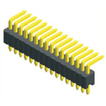 1.27mm Pitch Single Row Angle Type