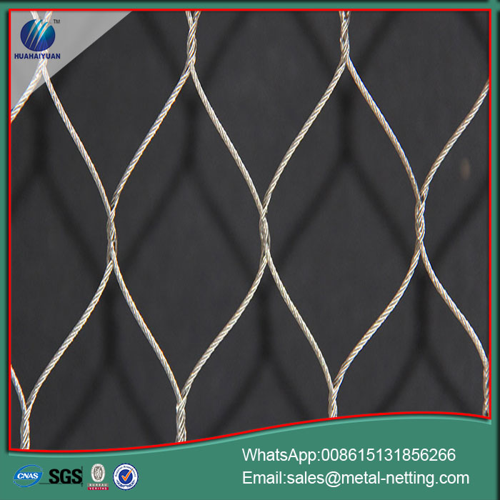 rope netting SUS304 rope mesh