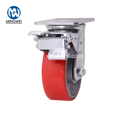 Heavy Duty 5 Inch Brake Caster Wheels