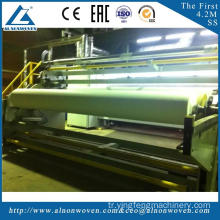 The most professional AL-4200 SS 4200mm non-woven fabric making machine with high quality