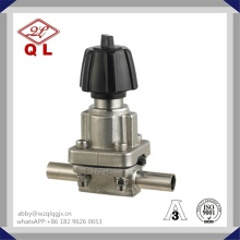 Sanitary Stainless Steel Welded Diaphragm Valve 304/316L