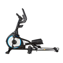Front Drive  Commercial Black Magnetic Elliptical Trainer