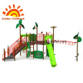 Rainforest Outdoor Playground Equipment For Children