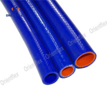 Heat resistance braided silicone tube