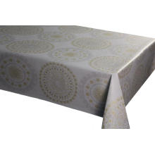 Elegant Tablecloth with Non woven backing Joining