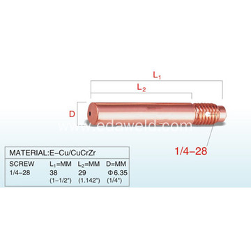 Lincoln KP2020-2B1 CuCrZr Contact Tip