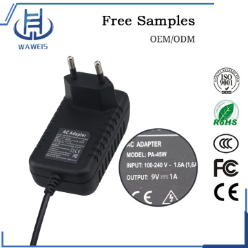 Ac/dc switching europe plug adapter
