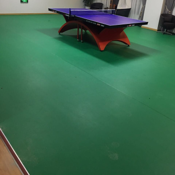 ITTF approved indoor anti-slip table tennis court flooring