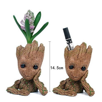 New design Plastic Tree Man flower pot Toy Gift For Kids