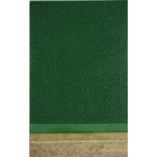 Epoxy brilliant green small wrinkle floor