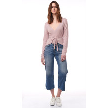 Discount Price for Women'S Cashmere Sweaters,Warm Cashmere Sweater,Oversized Cashmere Sweater Manufacturer in China The Wrap Top supply to North Korea Manufacturers
