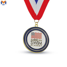 Make custom enamel medal custom made