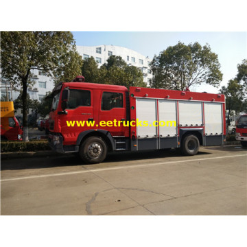 9000L Water Foam HOWO Fire Trucks