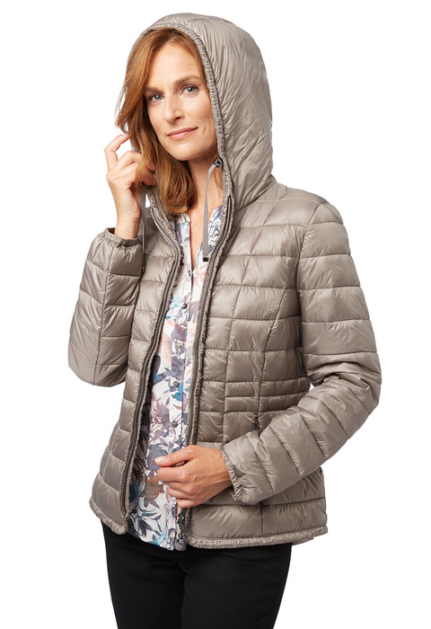 ladies light down touch jacket