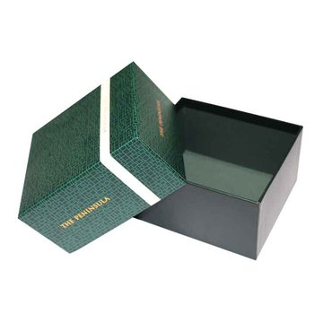 Green Printing Brand Paper Boxes With Lid