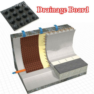 Top Quality HDPE Plastic Drainage Board with Dimple