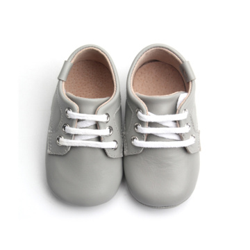 Breathable Boy Girl Genuine Leather Sneakers