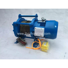 2000kg wire rope kcd electric hoist