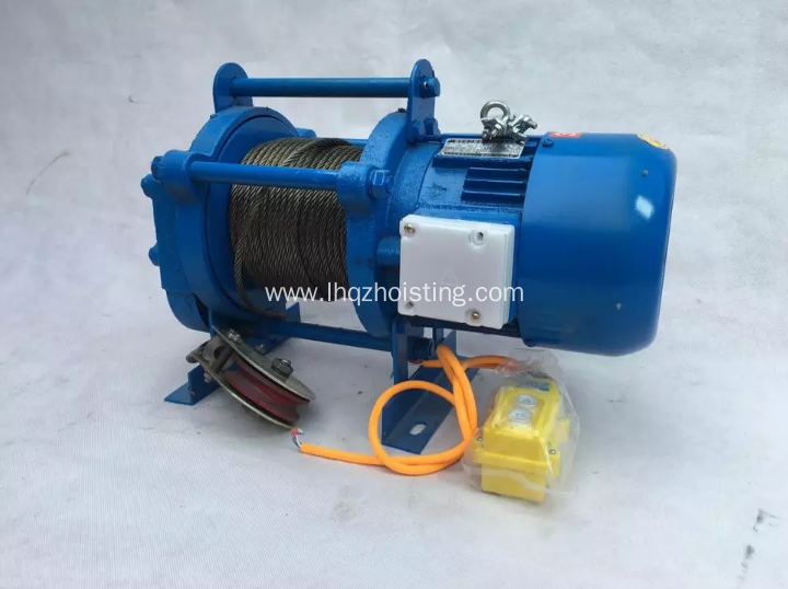 1600kg KCD type multi-function electric winch