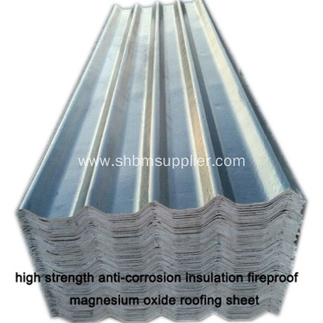 MGO RoofingSheet Better Than Galvanized Iron Roofing Sheet