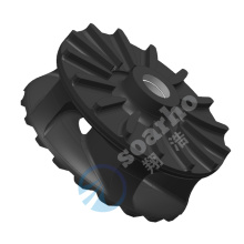 10 Years for Nonmetallic Material Spare Parts Rubber Impeller Of Slurry Pump supply to Spain Factory