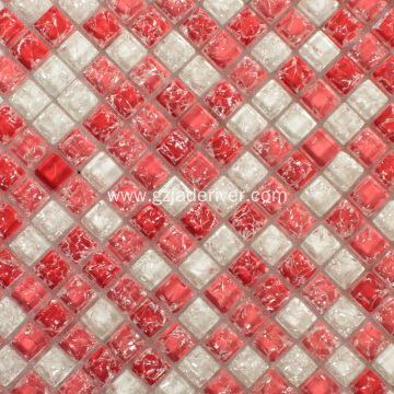 Ice Crack Crystal Pol Tile Mosaic