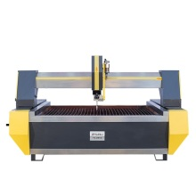 Flying-arm 3 axis water jet cutter for ceramic