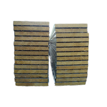 cold room heat insulation rock wool sandwich panel