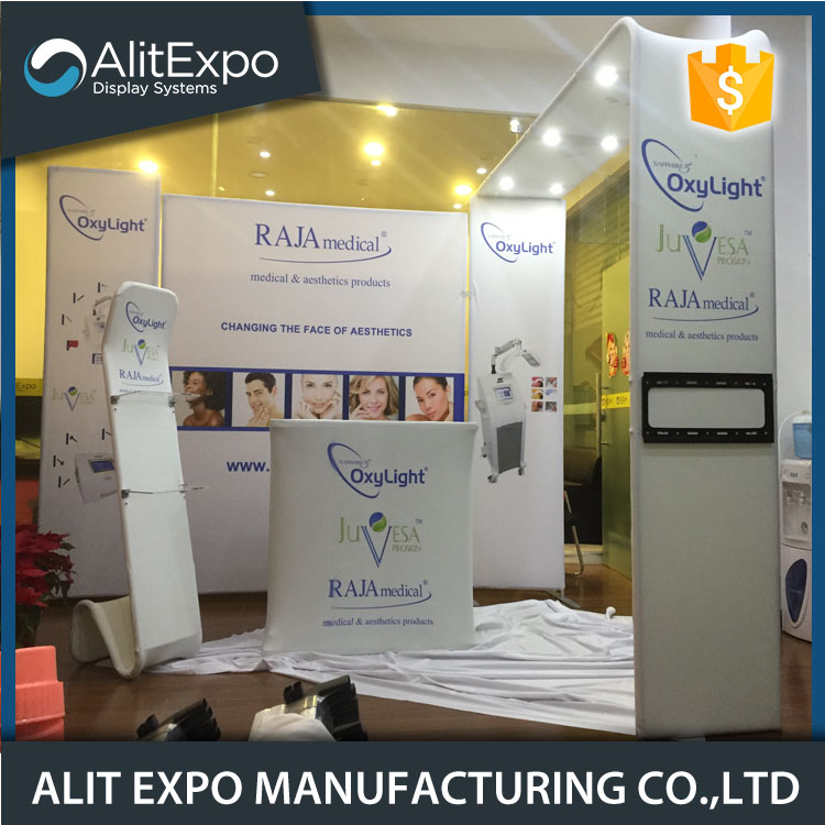 10x20 trade show exhibition booth equipment diy