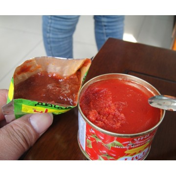 Organic Can Tomato Paste size 70g