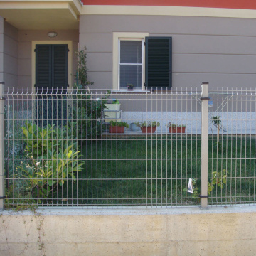 Curved Welded Wire Mesh Fence Panel