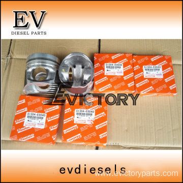 NISSAN engine parts piston NE6 piston ring