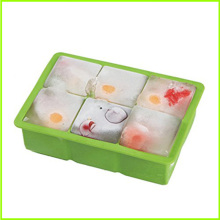 Hot New Products for 6 Cavity Silicone Ice Cube Trays Shapes,Rubber Round Ice Cube Trays for Sale Useful Ice Mold Silicone Ice Cube Tray export to Paraguay Factory