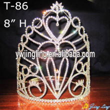 "8"" Custom Larger Pageant Crowns For Sale"