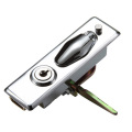 SL Button Chrome-coated Zinc Alloy Cabinet Plane Locks