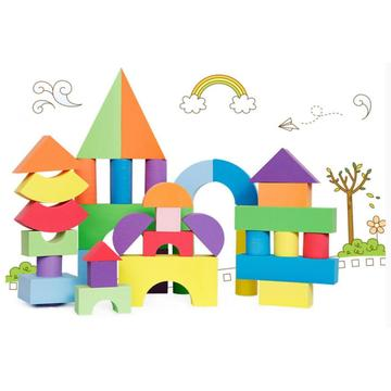 Colorful EVA foam for educational children toy bricks