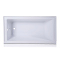 60 inch Acrylic Corner Drop-in Bath Tub