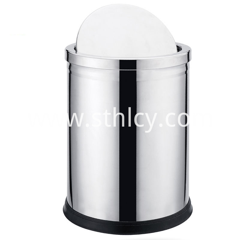 Hotel Stainless Steel Garbage Container