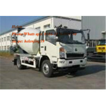 4x2 8m3 Small Self Loading Mixer Truck