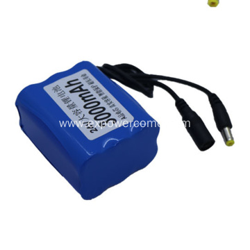 18650 6S1P 22.2V 3000mAh Li Ion Battery Pack