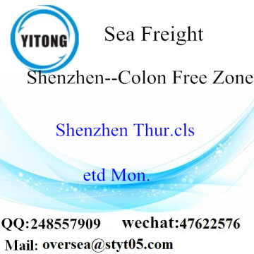 Shenzhen Port LCL Consolidation To Colon Free Zone