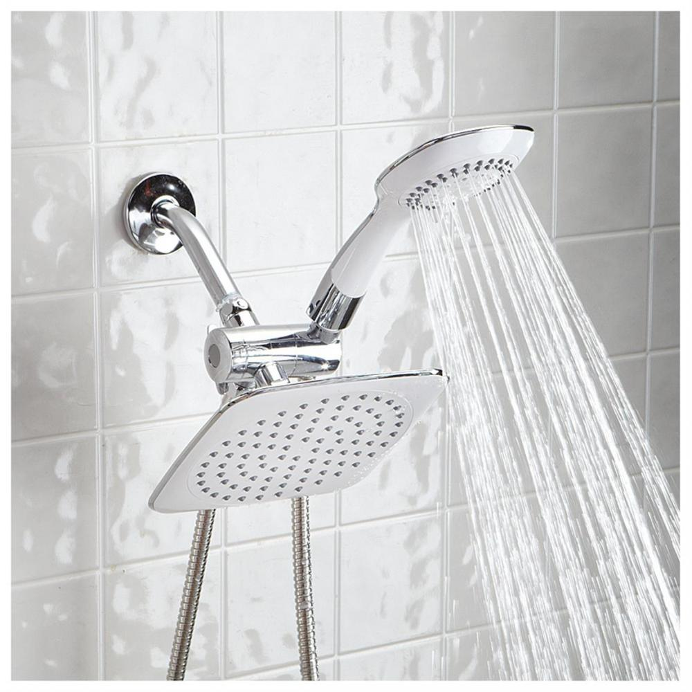 Easy connect rainfall shower panel