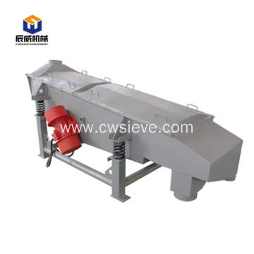 linear vibrating classifier screen for making perlite sand