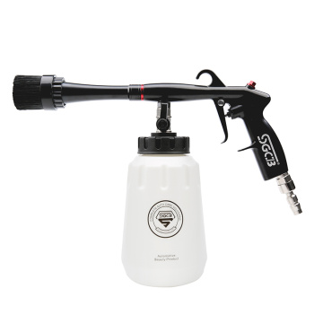 Air pulse cleaning gun for car washer